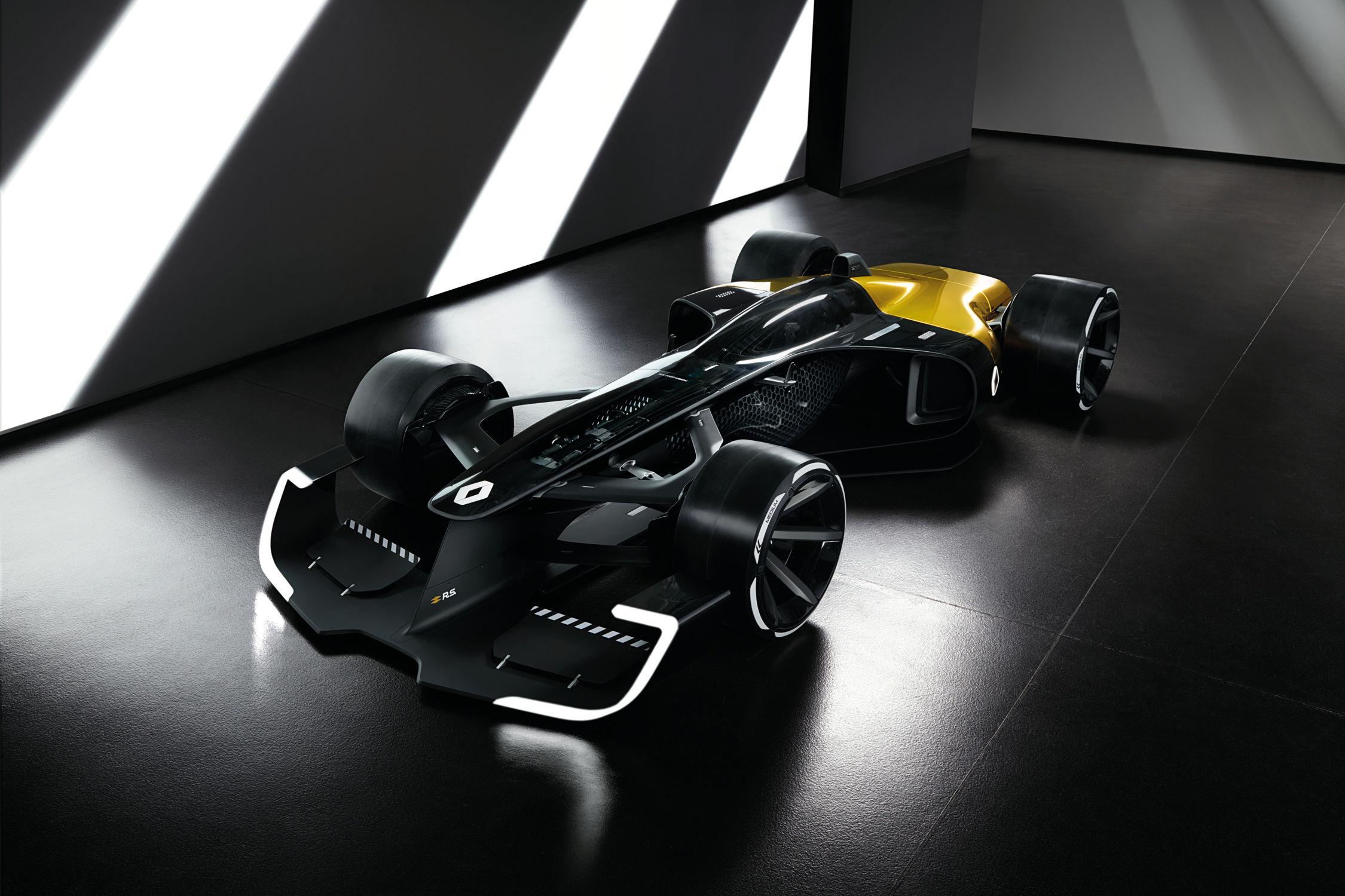 La Renault F1 du futur passe à l'action — Vidéo