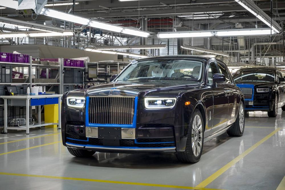 ench res 780 000 dollars pour la premi re rolls royce phantom 2018 actualit automobile. Black Bedroom Furniture Sets. Home Design Ideas
