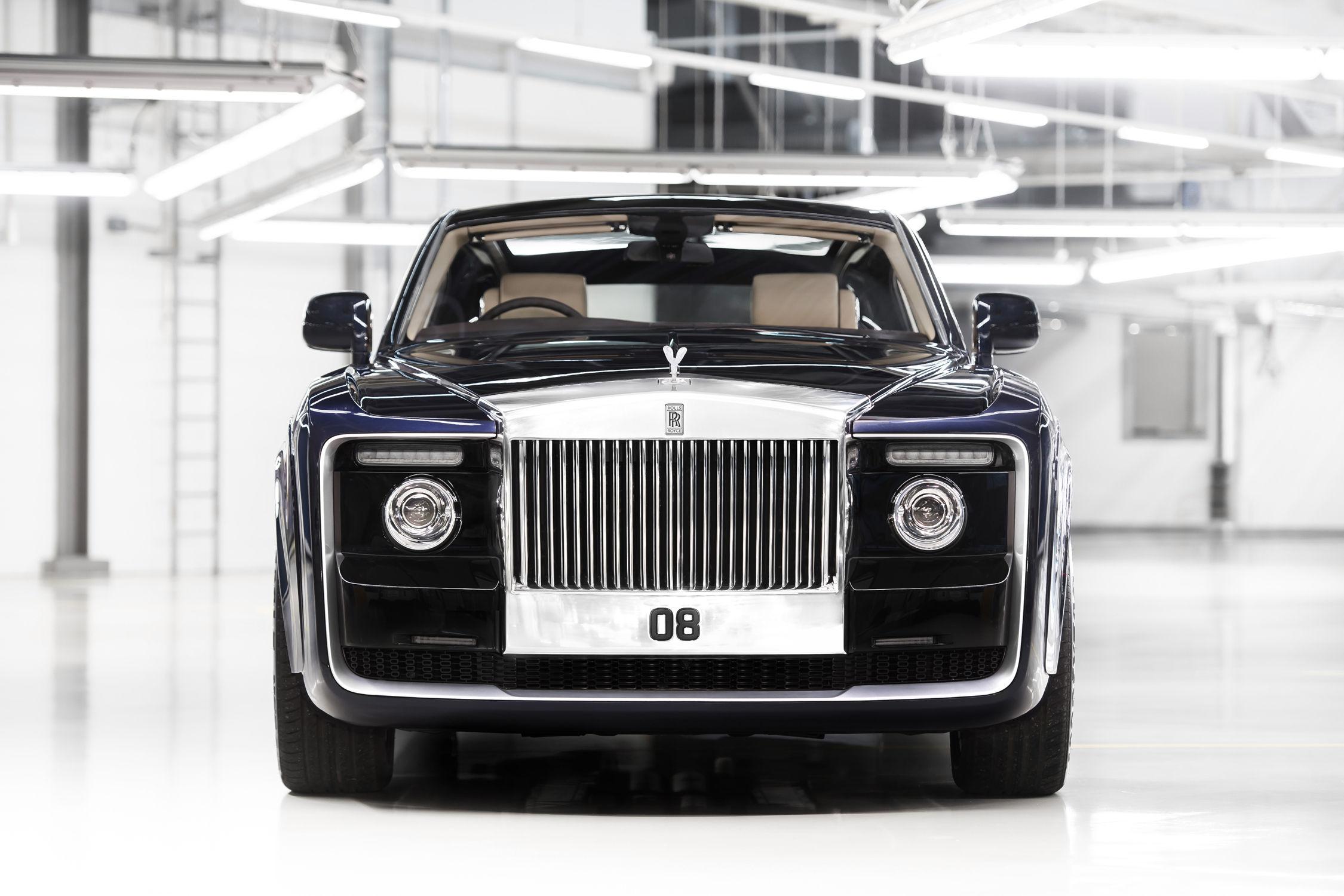 Un modèle unique à la Villa d'Este — Rolls-Royce Sweptail