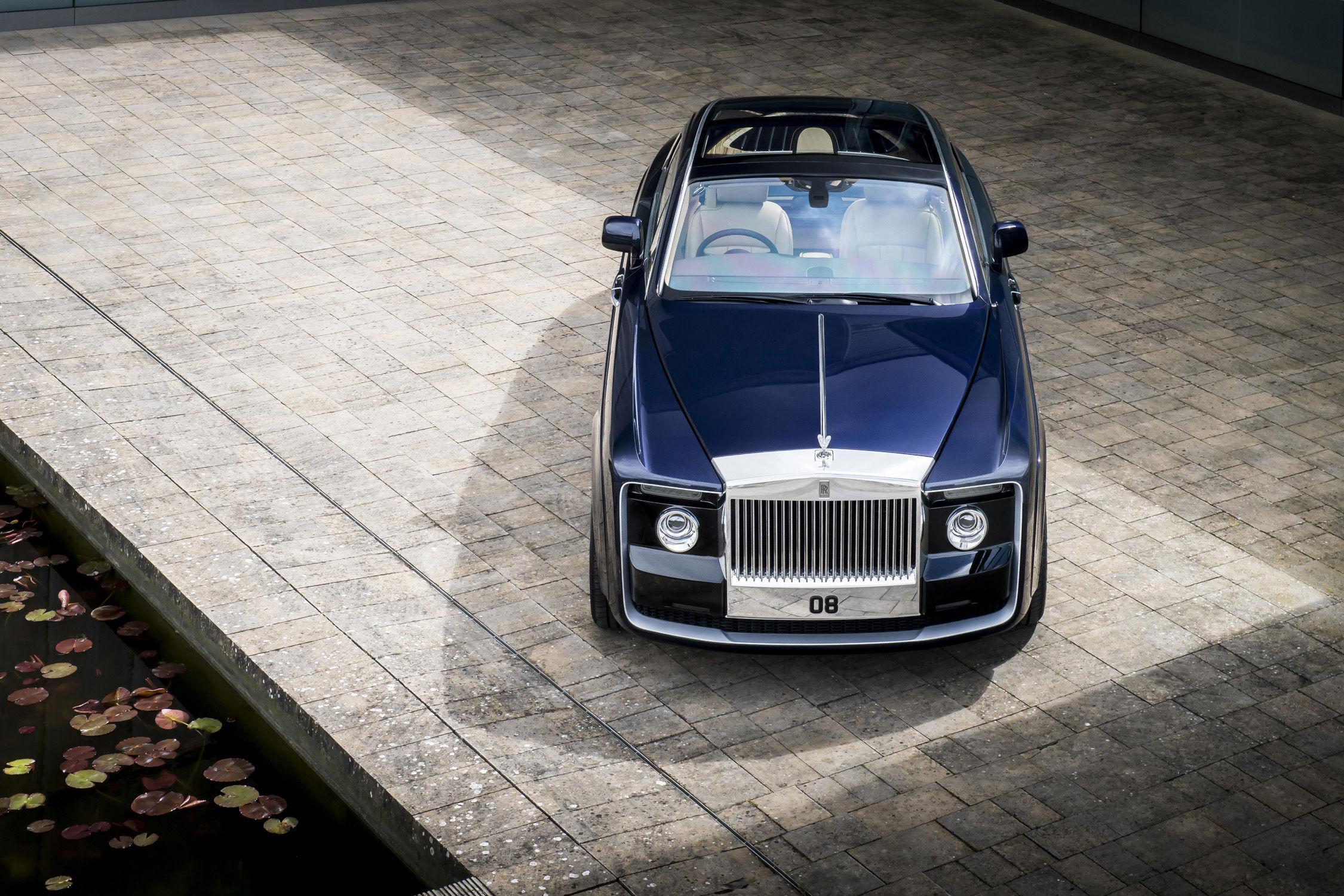 Un prix de 11,5 millions d\'euros — Rolls Royce Sweptail