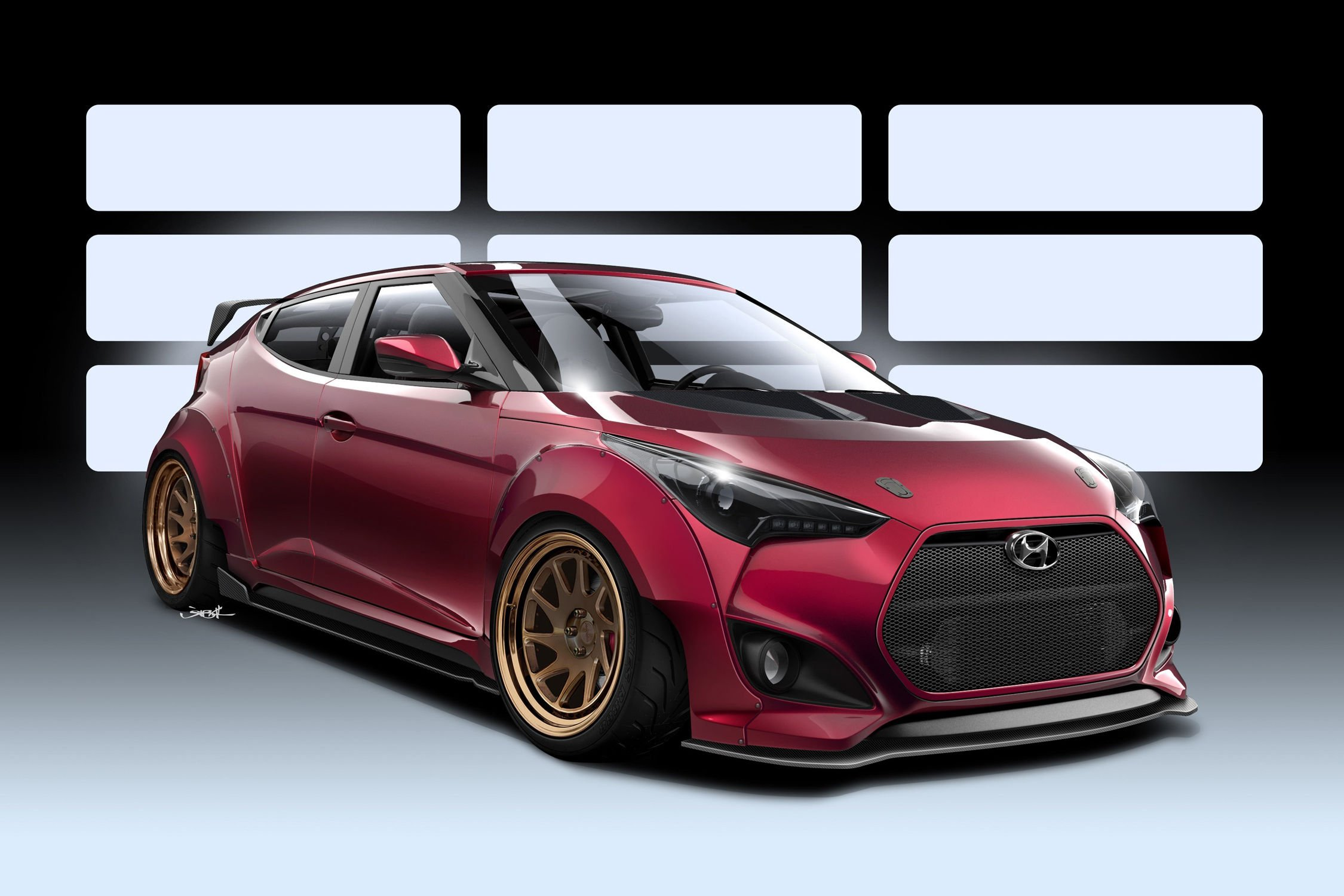 Hyundai Fait Le Plein Pour Le Sema Show Actualit