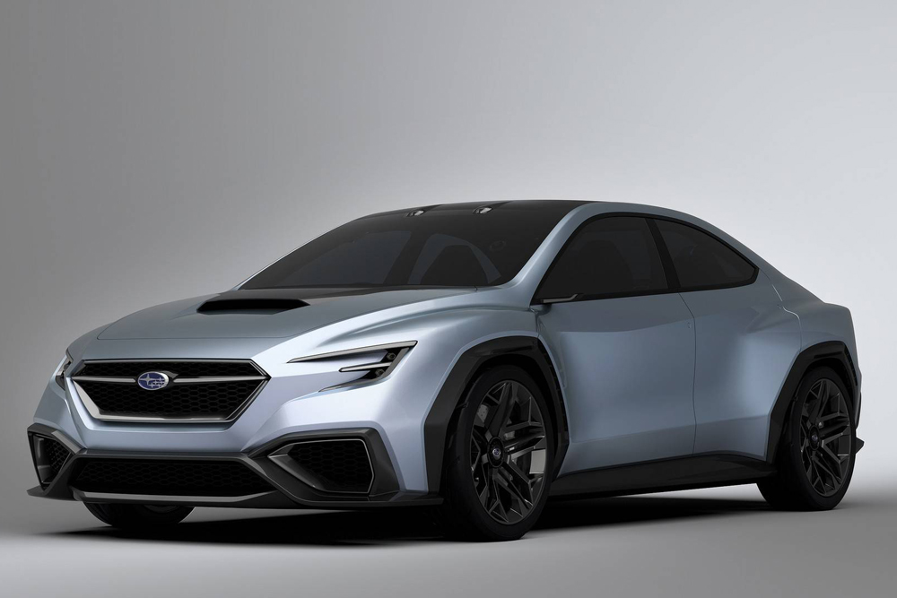 Bientôt en version STI — Subaru Viziv Performance