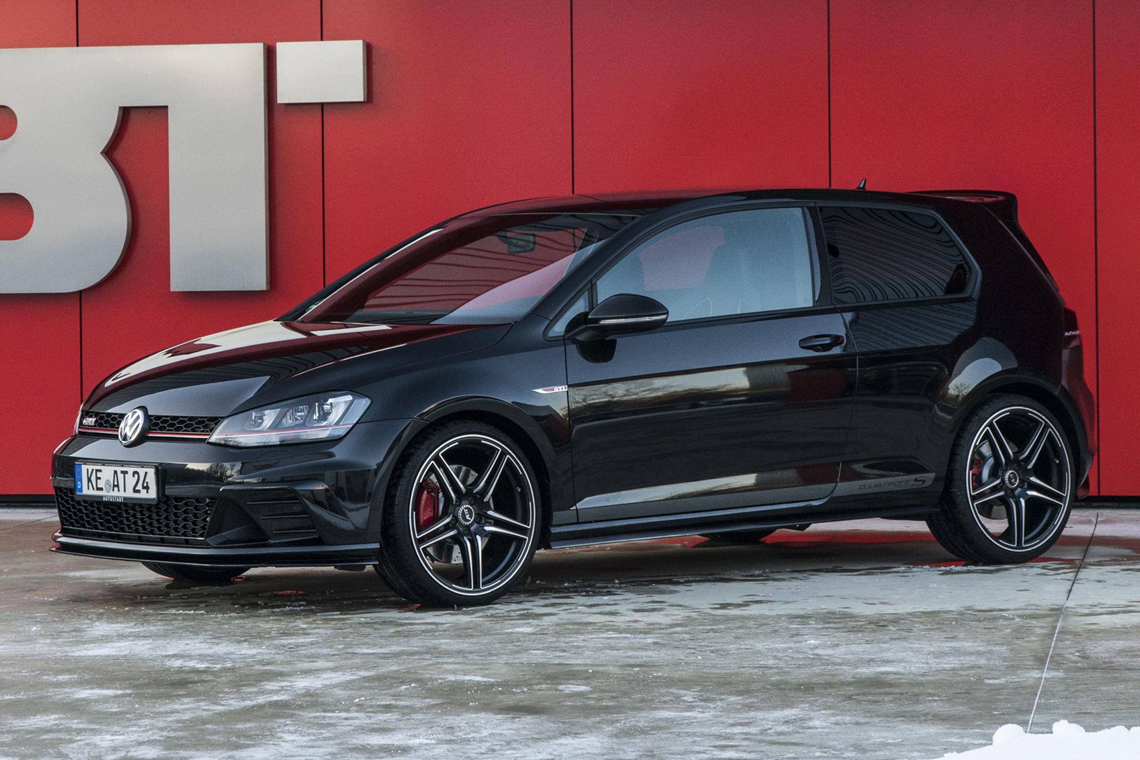 vw golf gti clubsport s par abt sportsline actualit. Black Bedroom Furniture Sets. Home Design Ideas