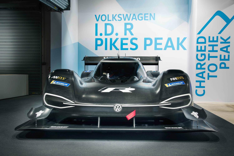 680 ch pour le Volkswagen ID R Pikes Peak