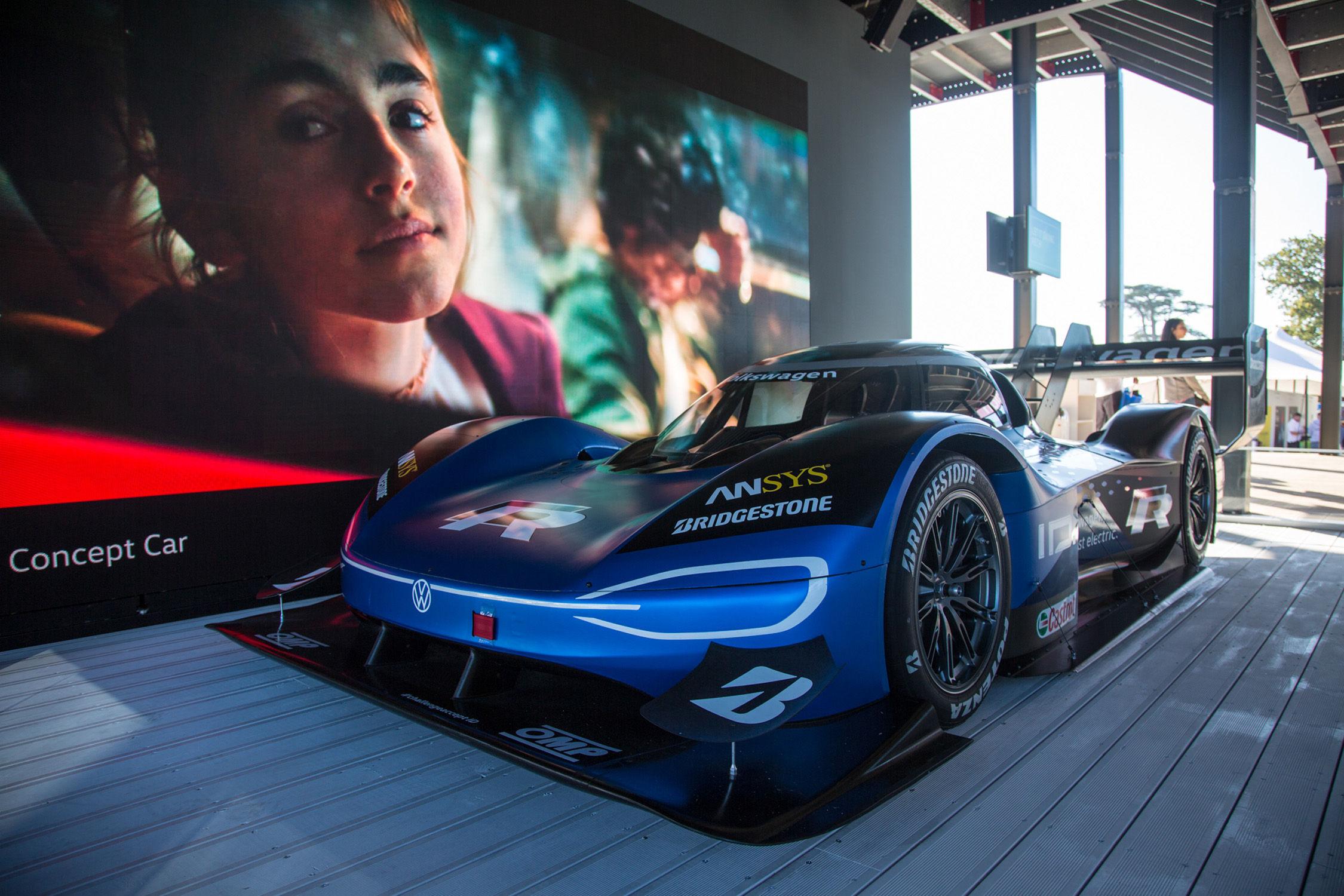 Volkswagen électrique enregistre une voiture F1 chez Goodwood — Courses automobiles