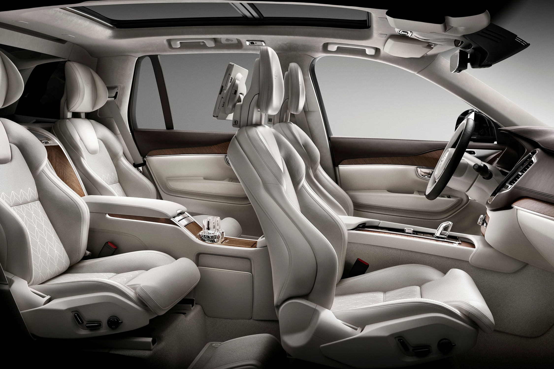 Bmw With 3Rd Row Seating >> XC90 Excellence : le SUV de luxe vu par Volvo - actualité ...