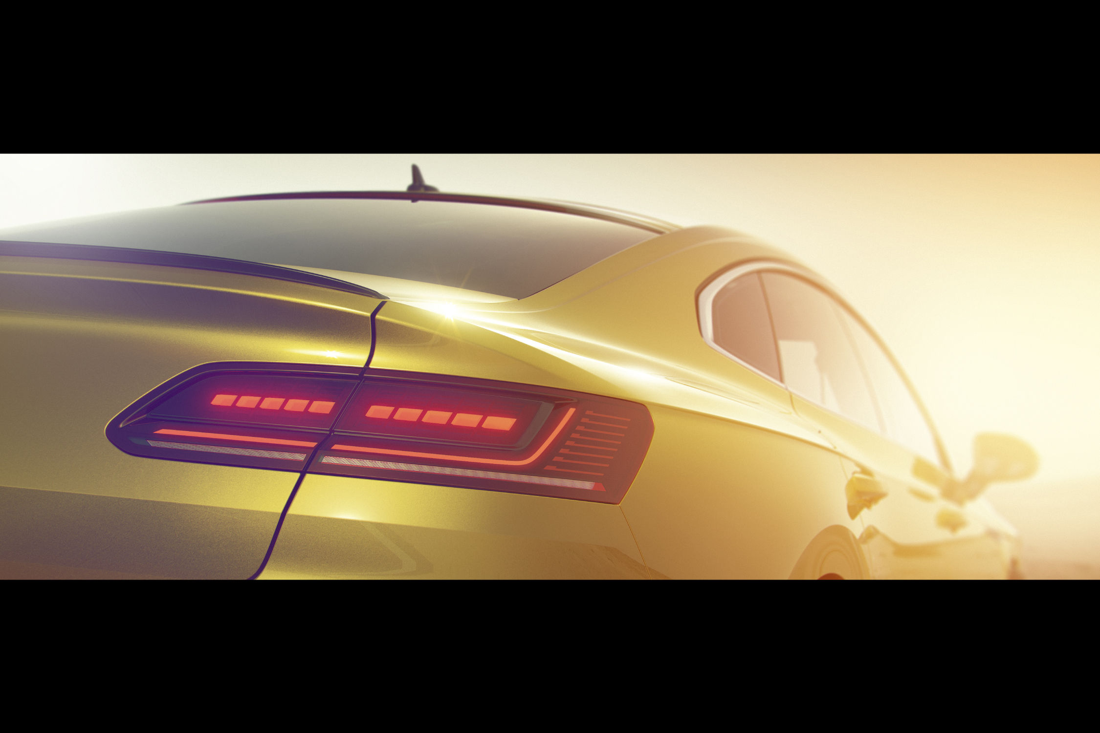 La nouvelle Arteon se montre… un peu — Volkswagen
