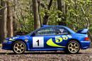 Une Subaru Impreza WRC ex-Colin McRae aux enchères
