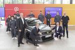 Les apprentis de VW créent le concept Golf GTE HyRACER