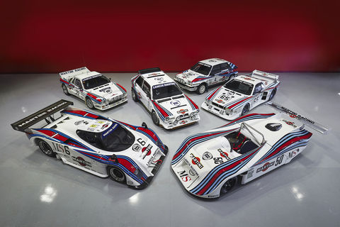 A vendre : collection Lancia Martini