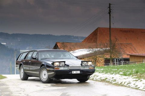 Unique : Aston Martin Lagonda Shooting Brake aux enchères