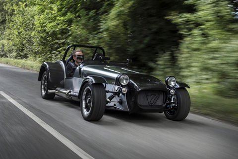 Caterham Superlight Twenty : édition anniversaire