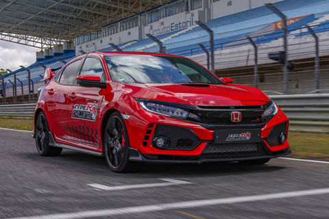 La Honda Civic Type R bat le record du circuit d'Estoril