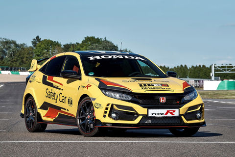 WTCR : Honda Civic Type R Limited Edition safety-car