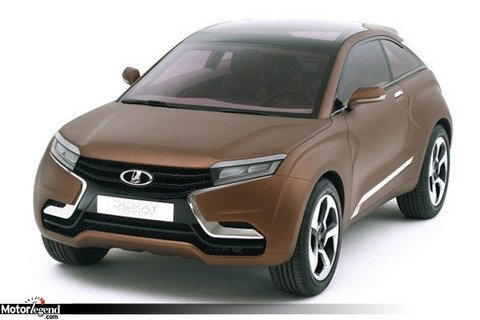 Lada X-Ray Concept : le crossover russe
