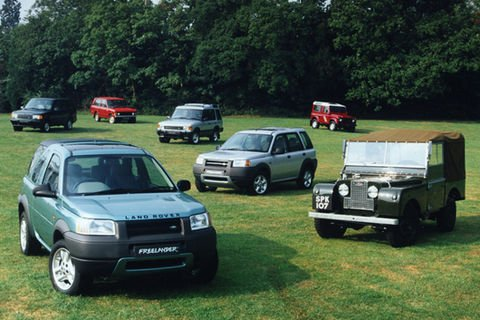 Land Rover Heritage accueille le Freelander I