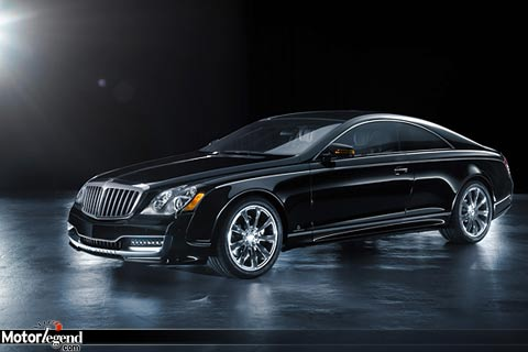 Maybach 57S : un coupé par Xenatec