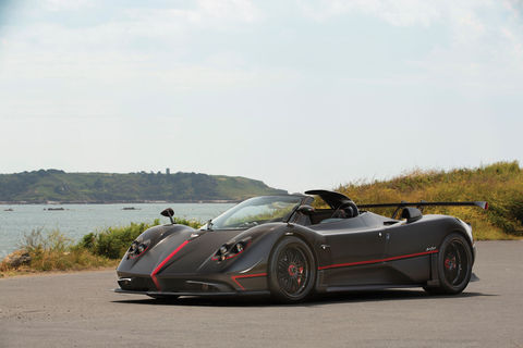 RM Sotheby's : one-off Pagani Zonda Aether Roadster