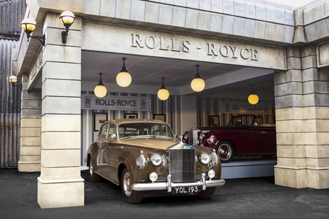 Rolls-Royce s'expose au Goodwood Revival