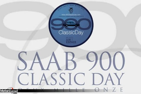 Saab 900 Classic Day, en avril au Bourget
