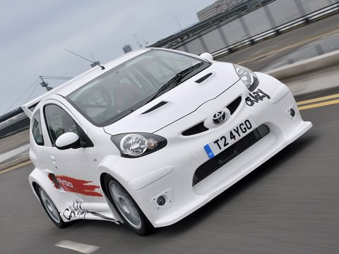 Toyota Aygo Crazy : complètement folle !