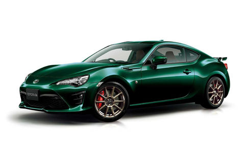 Toyota GT86 British Green Limited : pour le Japon