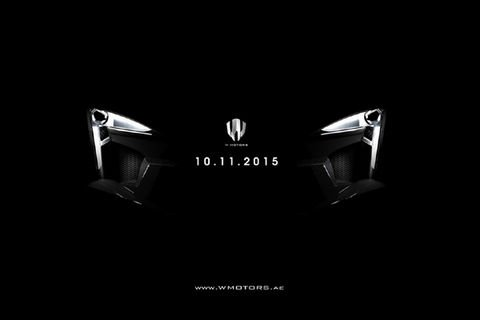 W Motors tease sa Fenyr Supersport