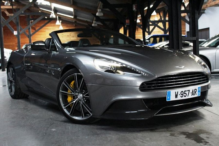 annonce vendue aston martin vanquish ii cabriolet gris fonc occasion 219 900 13 500 km. Black Bedroom Furniture Sets. Home Design Ideas