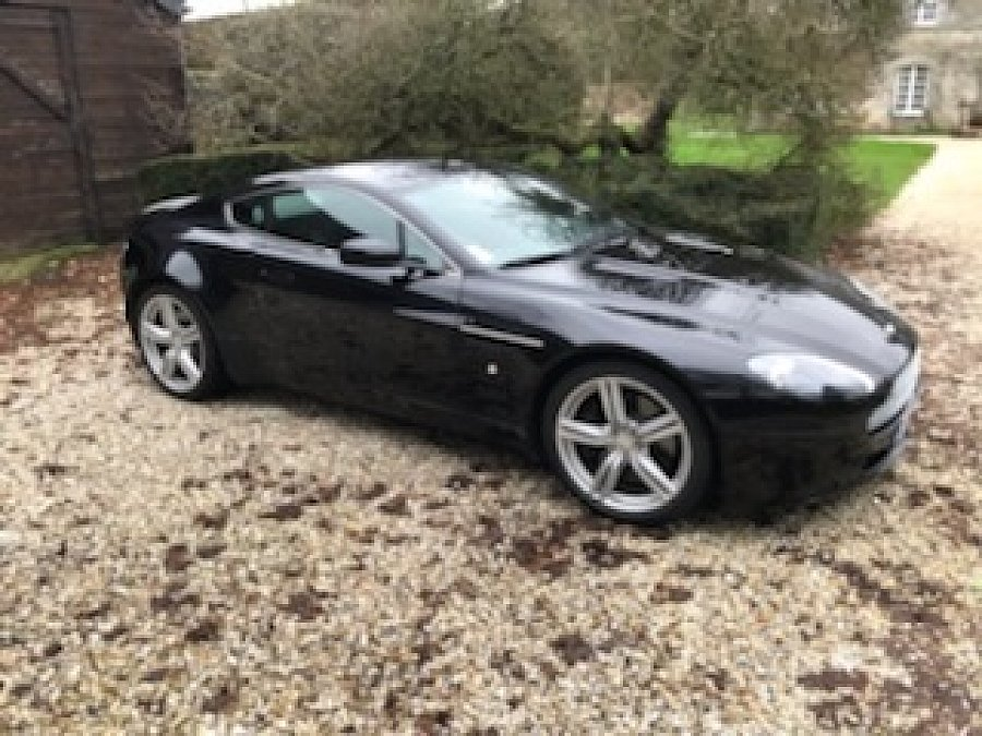 ASTON MARTIN AM V8 VANTAGE Series 1 coupé Noir occasion - 51 900 €, 125 000 km