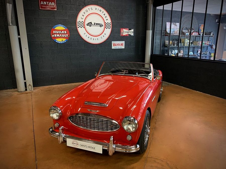 AUSTIN HEALEY 100/6 BN4 cabriolet Rouge occasion - 54 000 €, 5 800 km