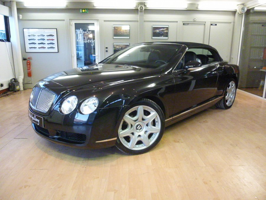BENTLEY CONTINENTAL GTC I W12 cabriolet Noir occasion - 58 900 €, 67 800 km