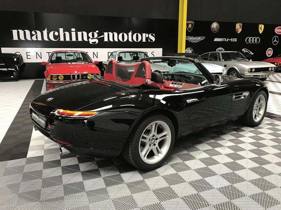 bmw z8 4 9 v8 cabriolet noir occasion 239 900 59 000 km vente de voiture d 39 occasion. Black Bedroom Furniture Sets. Home Design Ideas