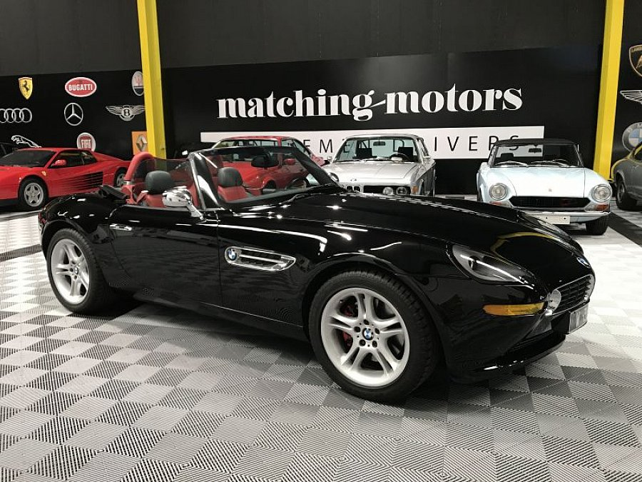 bmw z8 4 9 v8 cabriolet noir occasion 239 900 59 000 km vente de voiture d 39 occasion. Black Bedroom Furniture Sets. Home Design Ideas