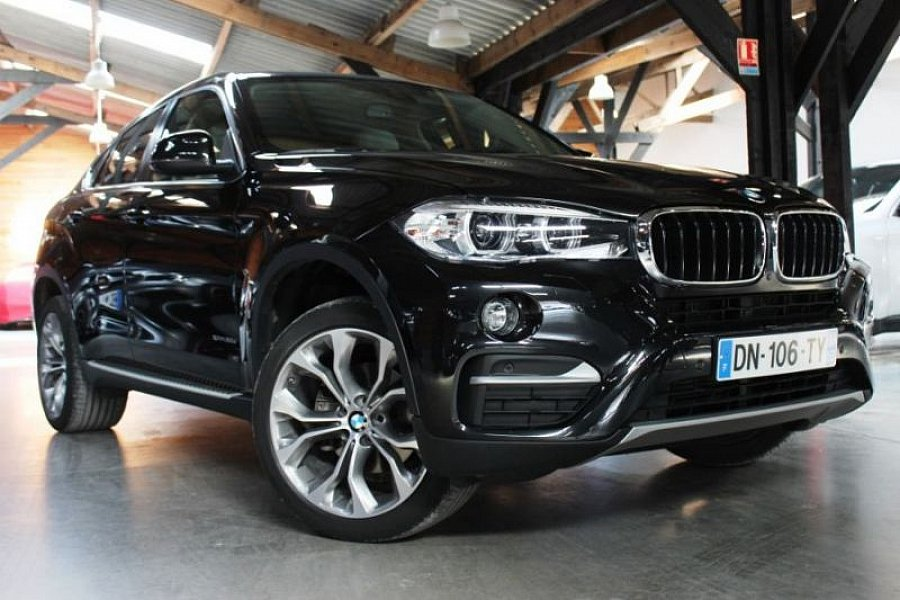 bmw x6 f16 xdrive30d lounge plus suv noir occasion 49 800 38 500 km vente de voiture d. Black Bedroom Furniture Sets. Home Design Ideas