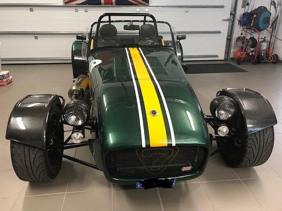 CATERHAM CSR 175 team lotus full option compétition Vert occasion - 55 000 €, 9 000 km