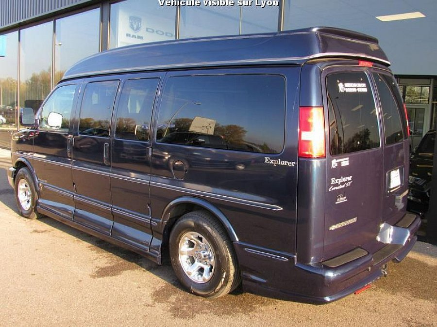 chevrolet express 5 3l v8 explorer limited monospace occasion 41 500 145 000 km vente de. Black Bedroom Furniture Sets. Home Design Ideas