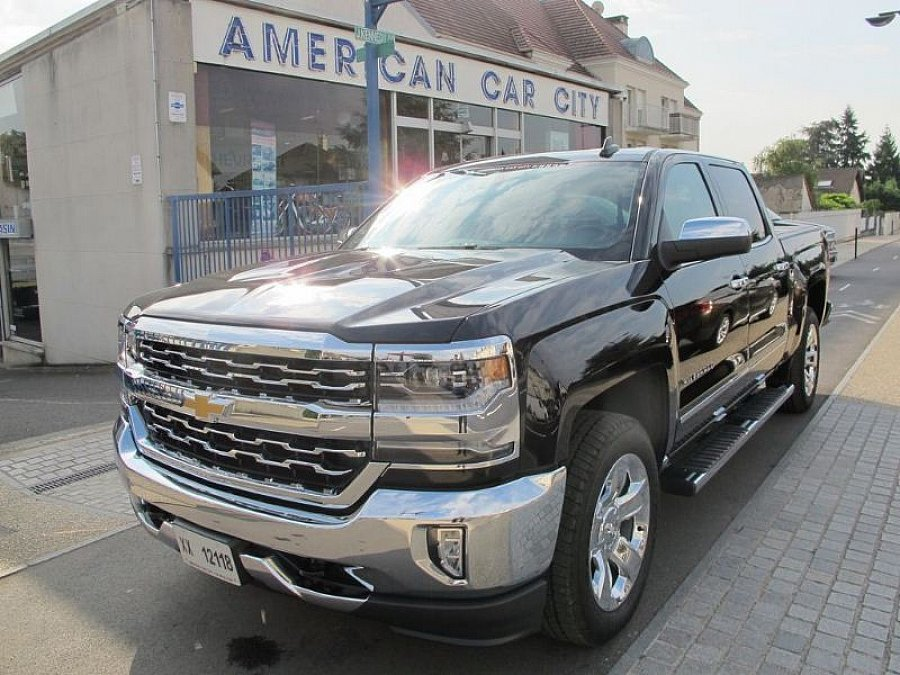 chevrolet silverado crew cab ltz pick up occasion 74 900. Black Bedroom Furniture Sets. Home Design Ideas