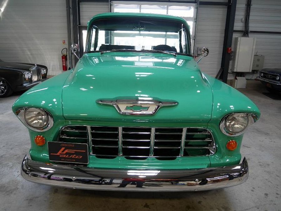 CHEVROLET 3100 PICK UP BIG WINDOWS pick-up Vert clair occasion - 54 900 €, 1 115 km