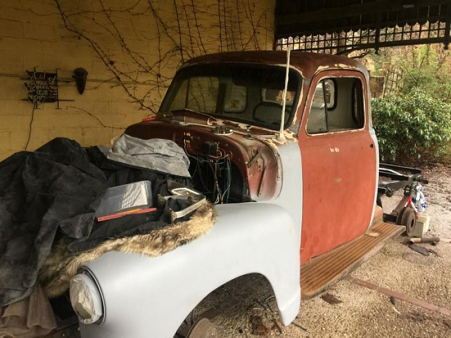 CHEVROLET 3100 PICK UP Advance Design Series 5 fenetres pick-up Argent occasion - 14 000 €, 30 000 km
