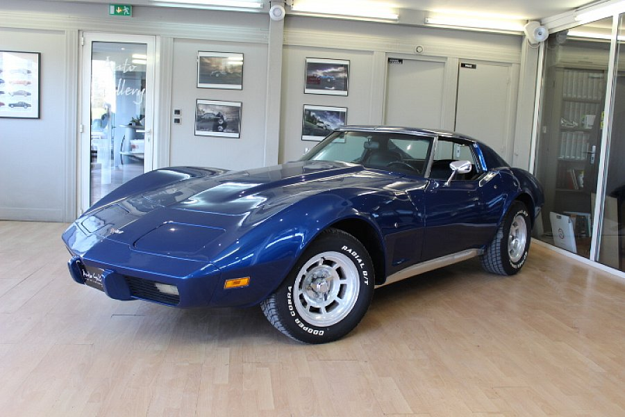 CHEVROLET CORVETTE C3 5.7 Small Block V8 (350ci) coupé Bleu occasion - 24 800 €, 29 382 km