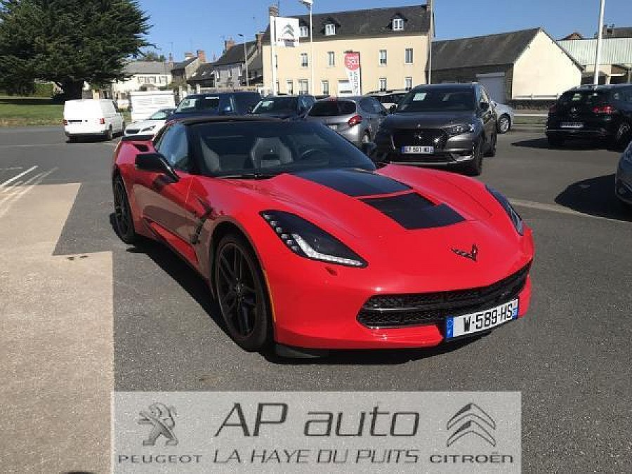 CHEVROLET CORVETTE C7 Stingray Cabriolet 6.2 V8 466ch coupé Rouge occasion - 64 990 €, 24 563 km