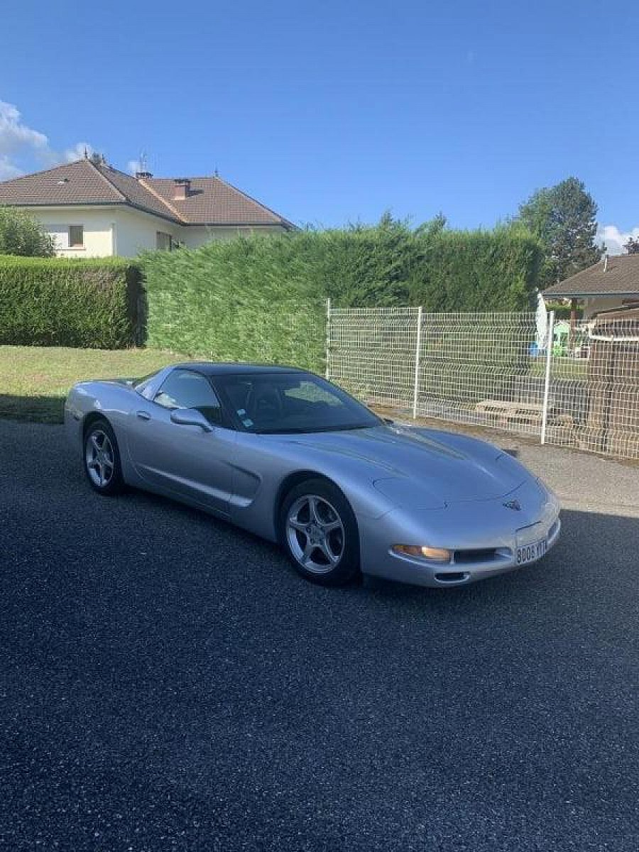 CHEVROLET CORVETTE C5 luxury toute option targa Gris clair occasion - 25 000 €, 114 000 km
