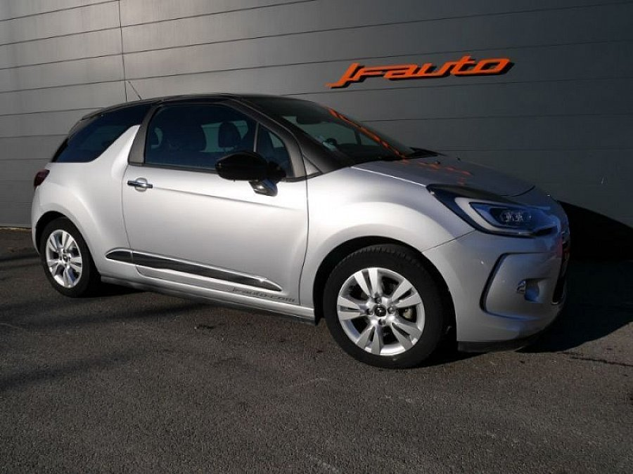 CITROEN DS3 1.6 VTi 120 ch SO CHIC citadine Gris occasion - 10 700 €, 40 120 km