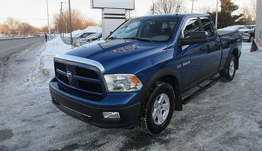 DODGE RAM IV 1500 pick-up Bleu occasion - 17 000 €, 160 000 km