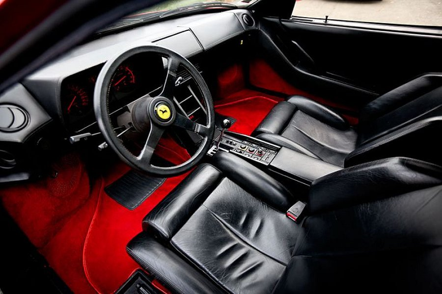 ferrari testarossa 4 9l 390ch coup rouge occasion 109. Black Bedroom Furniture Sets. Home Design Ideas