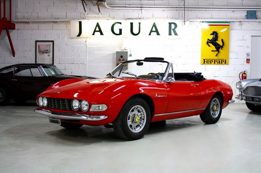fiat dino 2000 spider cabriolet rouge occasion 1 km. Black Bedroom Furniture Sets. Home Design Ideas
