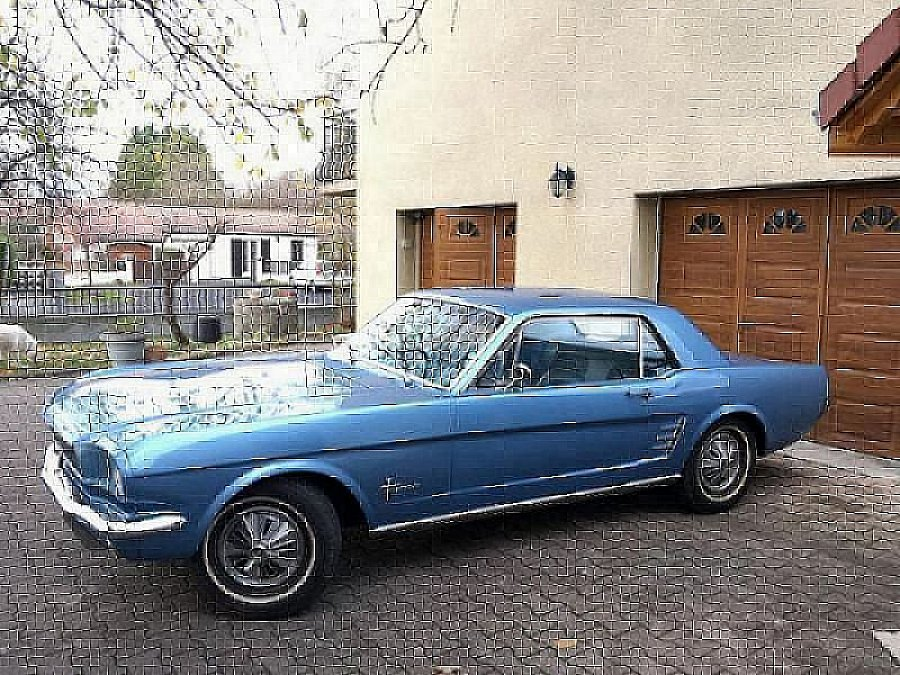 FORD MUSTANG I (1964-73) coupé Bleu clair occasion - 19 990 €, 500 km