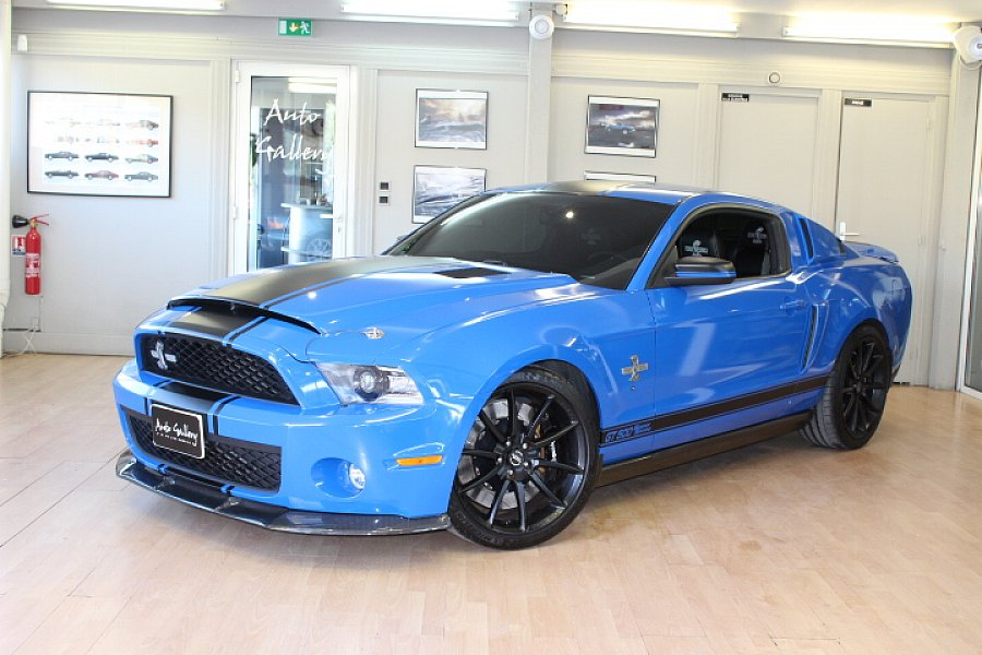 FORD MUSTANG VI (2015) Shelby Super Snake 750 CH coupé Bleu occasion - 77 800 €, 19 701 km