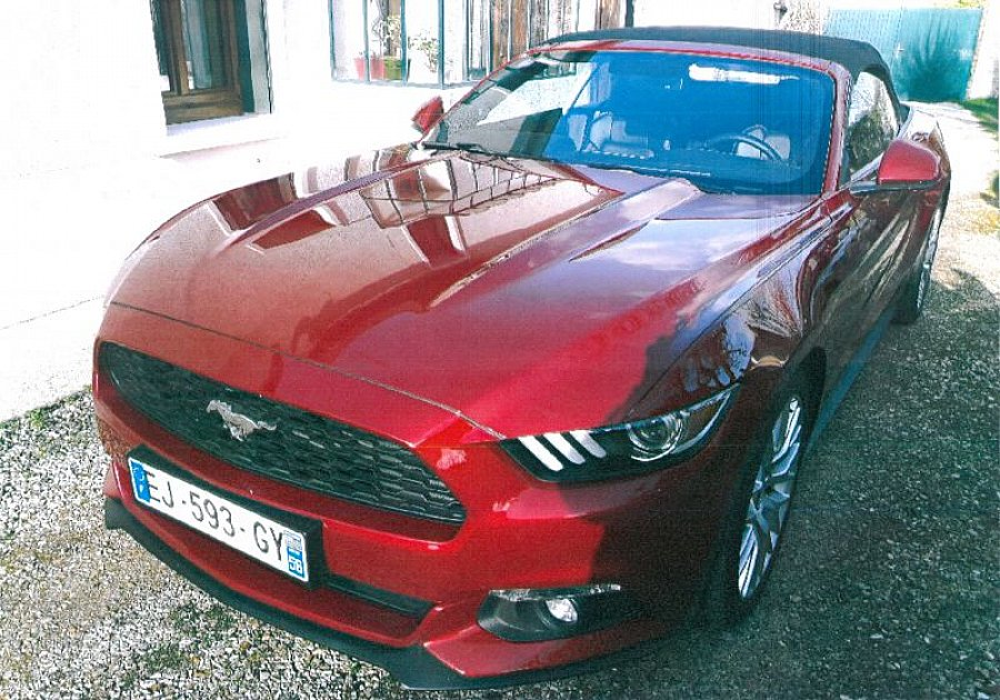 FORD MUSTANG VI (2015 - ...) EcoBoost 2.3 317 ch cabriolet occasion - 39 500 €, 22 250 km