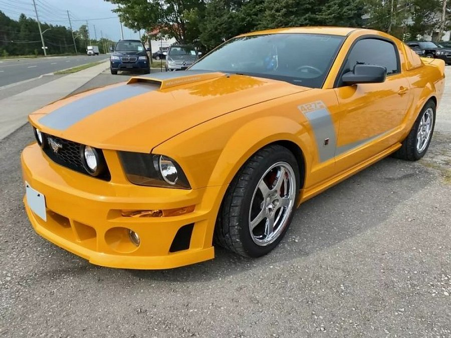 FORD MUSTANG V (2005-14) Serie 1 Roush Stage 3 coupé Orange occasion - 41 000 €, 43 661 km